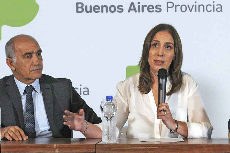 Daniel Salvador y María Eugenia Vidal
