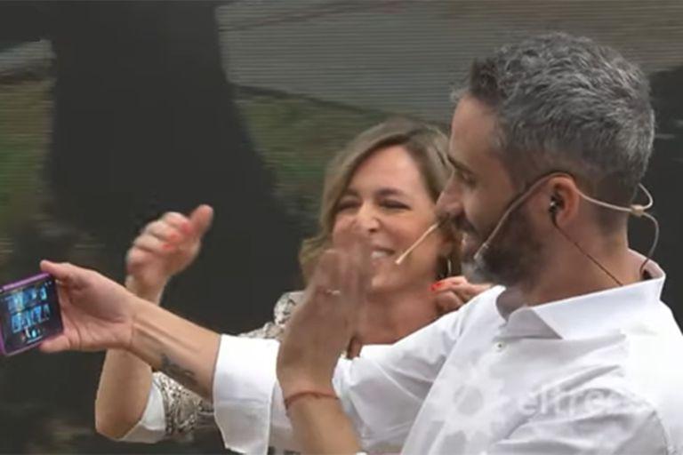 """El Pollo Álvarez sorprendió a Borghi: """"¿Estás escuchando música?"""""""