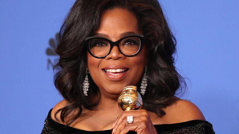 El discurso de Oprah Winfrey, uno de los puntos altos de los Globos de Oro 2018
