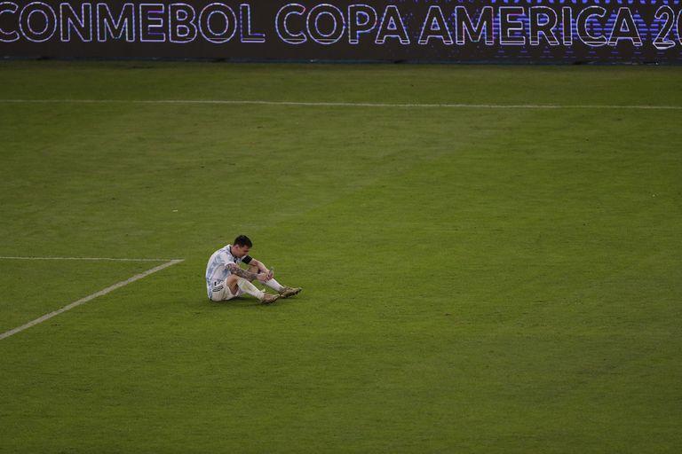 Messi y una imagen para toda la vida.