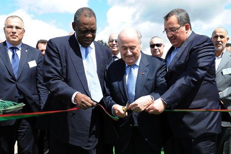 Blatter expresó su apoyo a Marruecos para 2026