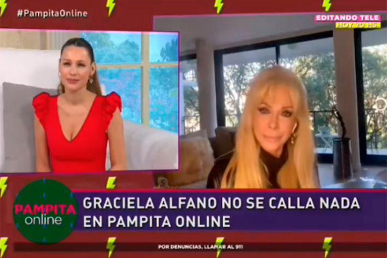 Las lágrimas de Graciela Alfano al hablar con Pampita Ardohain sobre su hija Blanca