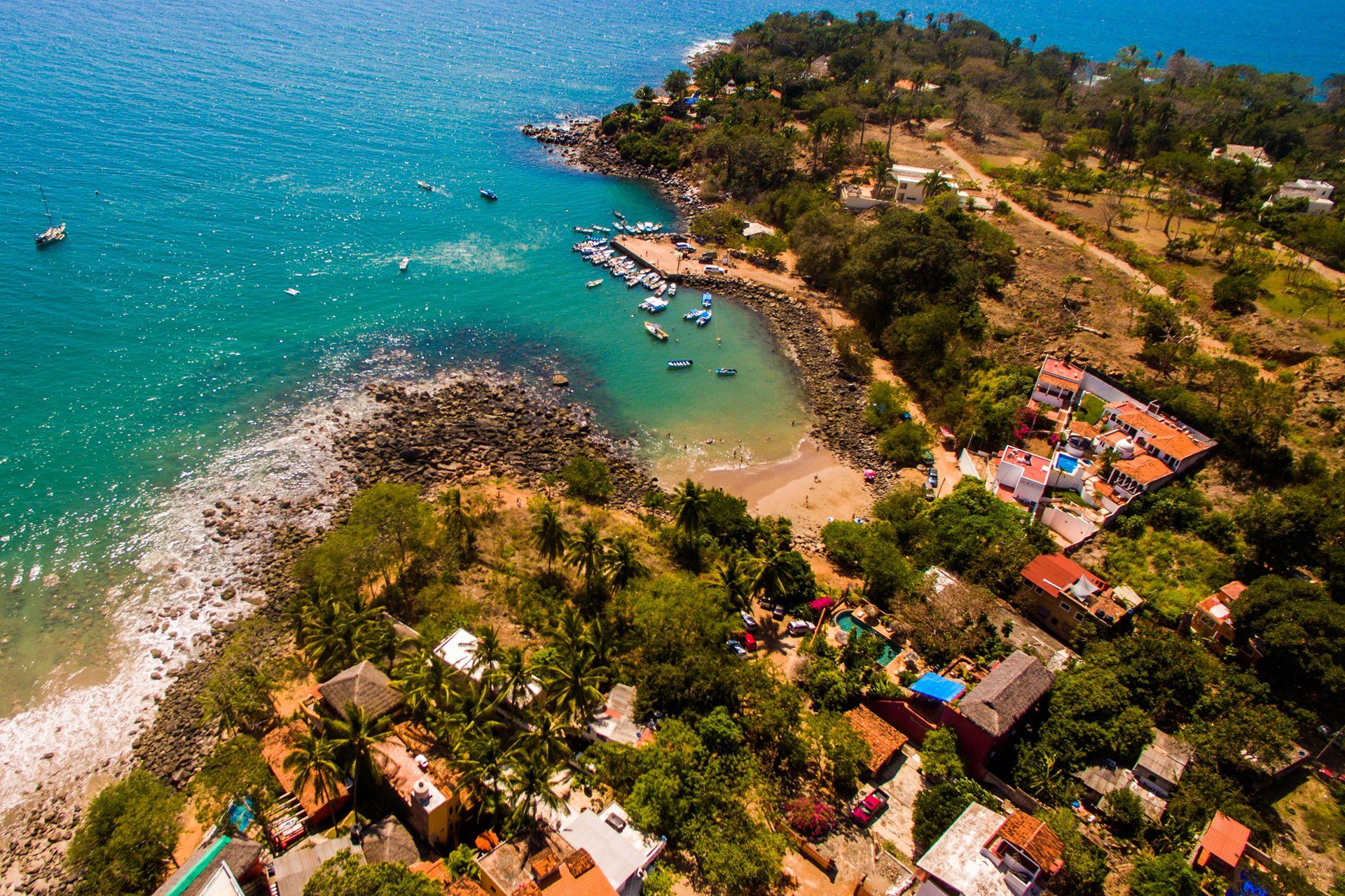 La Riviera Nayarit, una cadena de 300 kilómetros con pequeñas playas