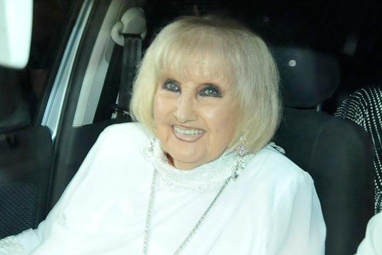 Goldie Legrand festejó con su hermana Mirtha sus 92 años