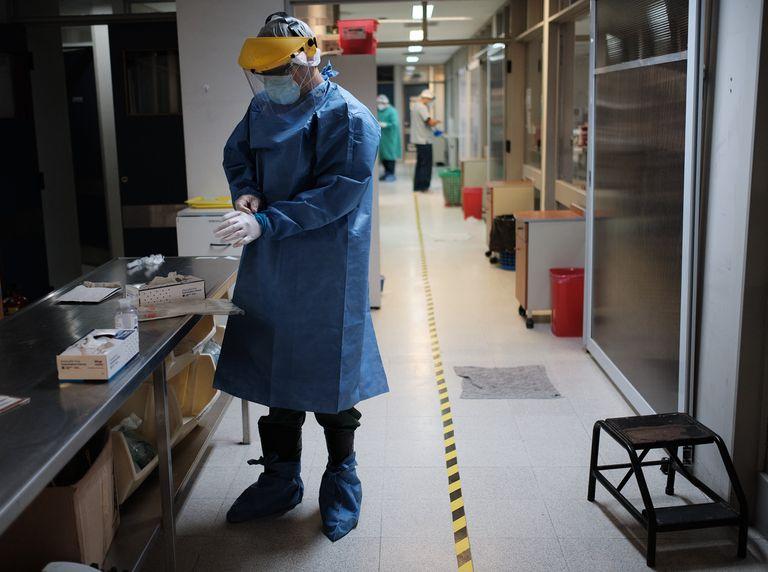 El Hospital Dr. Alberto Balestrini de La Matanza durante la pandemia de Covid-19