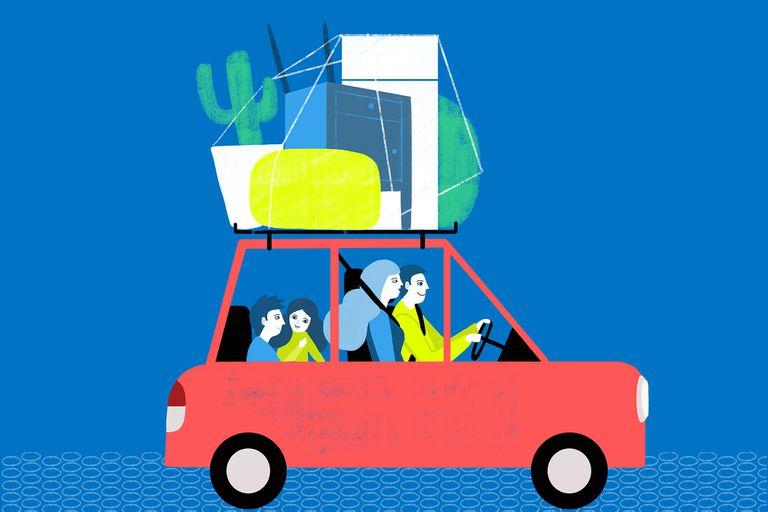 Éxodo porteño: familias que se mudan y arrancan de cero a más de 100km