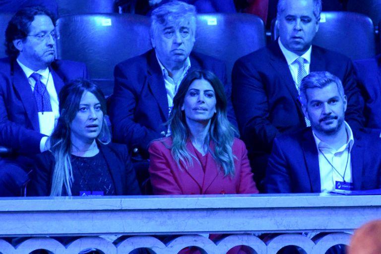 En fotos: las imágenes más curiosas del debate presidencial