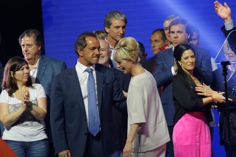 El gabinete que imaginó Scioli en 2015