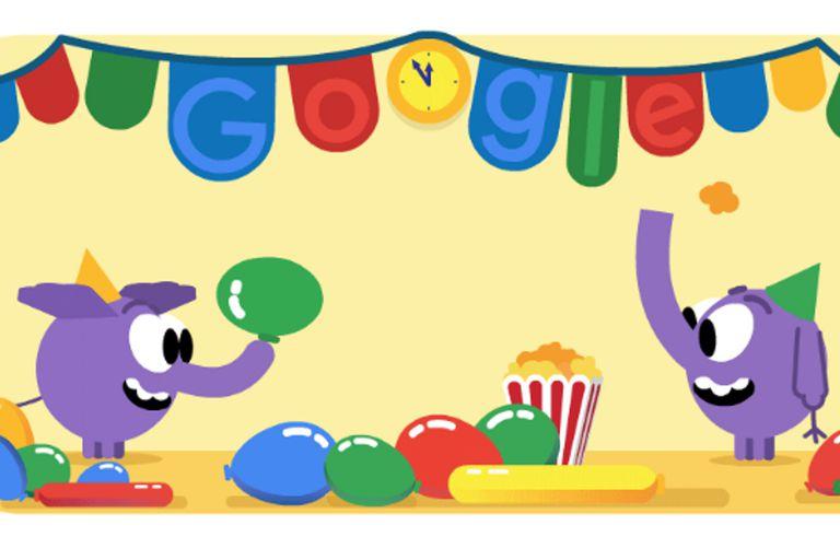 Nochevieja: Google despide el último día del año