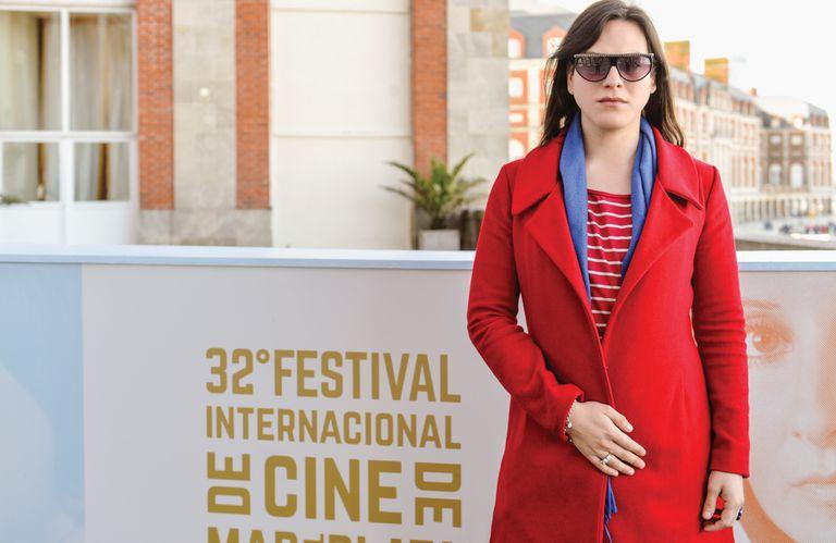 Daniela Vega estuvo en el Festival Internacional de Cine de Mar del Plata, donde fue invitada de lujo
