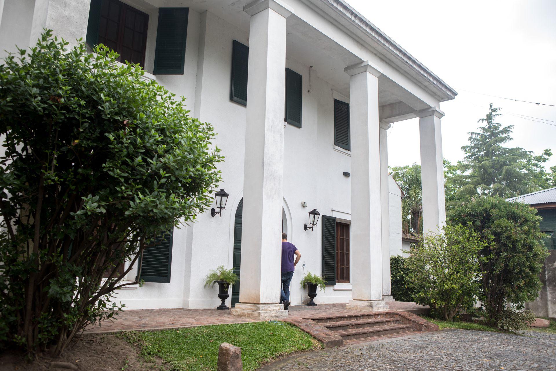 Villa Victoria, el imponente palacete de Tigre reconvertido en hotel.
