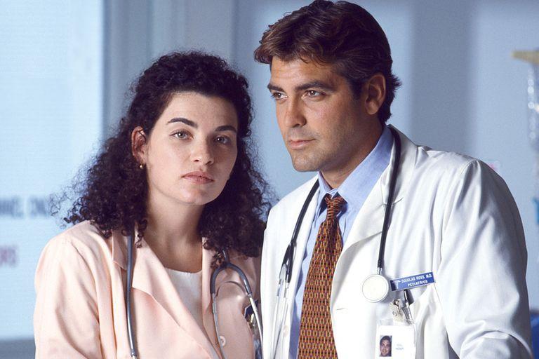 Doug y la enfermera Hathaway, un romance que cautivó a la audiencia de ER.