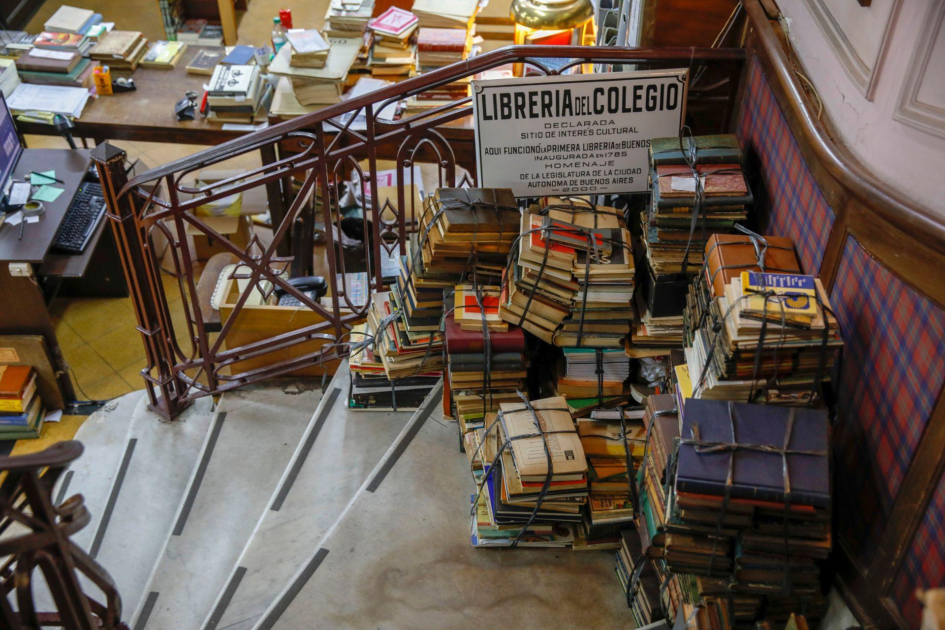 La librería Ávila es la más antigua del mundo, está en Alsina y Bolívar en el barrio de Montserrat