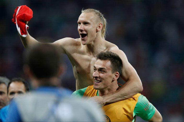 La FIFA advirtió al croata Vida por dedicarle a Ucrania la victoria contra Rusia