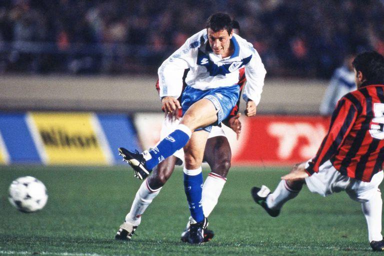 Un momento único: contra el Milan de Capello, en la final Intercontinental de 1994