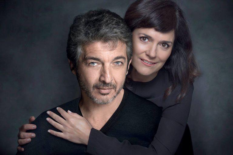 Darín y Pietra, en una función a beneficio de la Fundación Sí