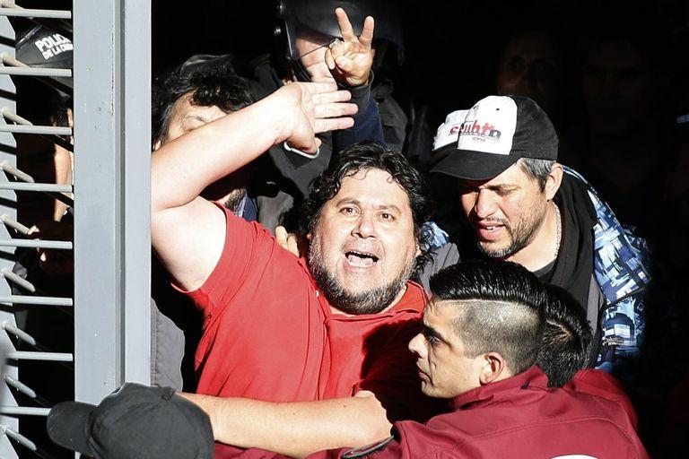 La Policía de la Ciudad detiene al líder sindical Néstor Segovia