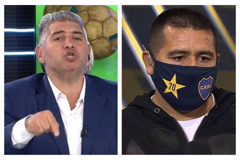 """Mentiroso y farsante"": Leo Farinella estalló contra Juan Román Riquelme"