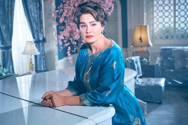 Jessica Lange como Joan Crawford