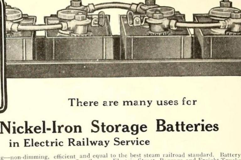 Lo que solía ser una peculiaridad peligrosa de la batería de Edison resultó ser muy útil