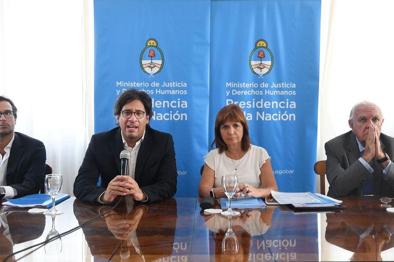 Garavano, el día que presentaron el proyecto de baja de imputabilidad; el del Código Penal todavía no se hizo