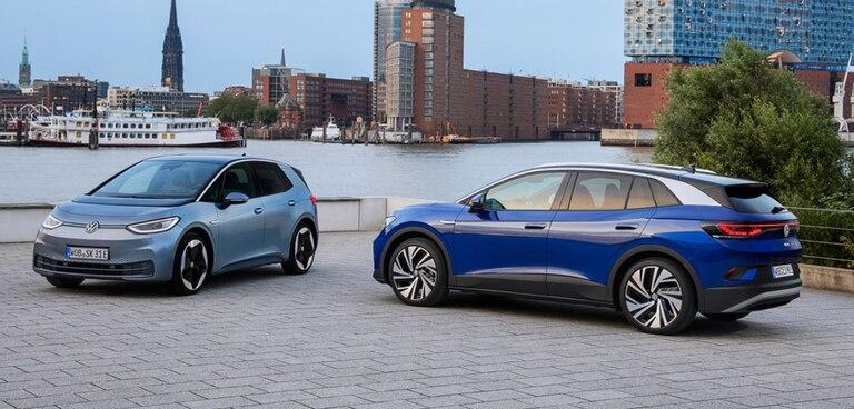 La automotriz alemana desembarcará con sus autos eléctricos en Argentina con los modelos ID.3 e ID.4.