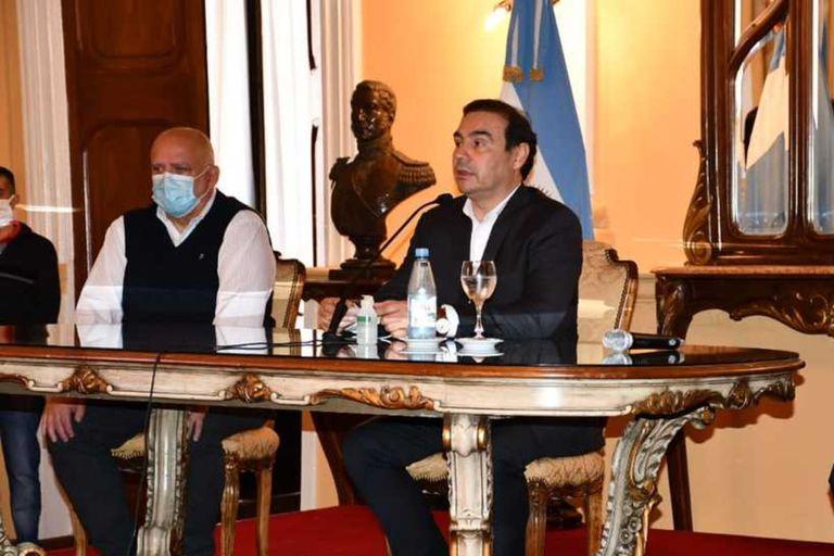 El gobernador de Corrientes, Gustavo Valdés