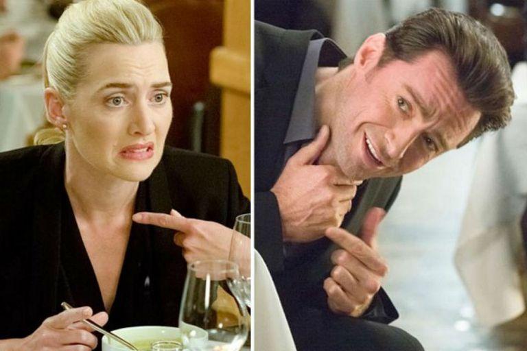 Kate Winslet y Hugh Jackman en Proyecto 43 (también conocida como ¿¡Por qué, Dios, por qué!?)