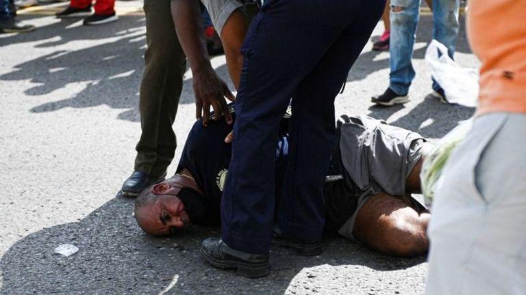 Tras la brutal represión, la dictadura abrió los juicios sumarios exprés a los manifestantes detenidos