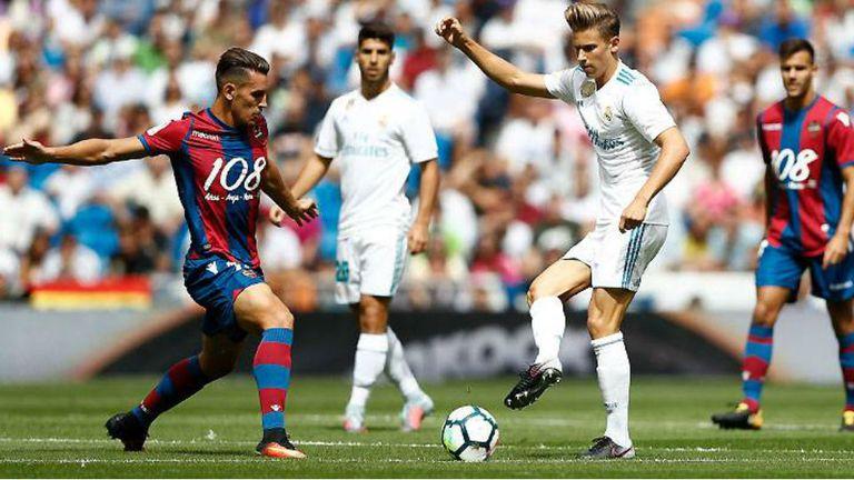 Real Madrid empató en su visita a Levante