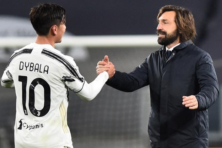 Paulo Dybala tiene una buena relación con Andrea Pirlo, el entrenador de Juventus, que lo apoyó en un momento difícil para el argentino en 2020