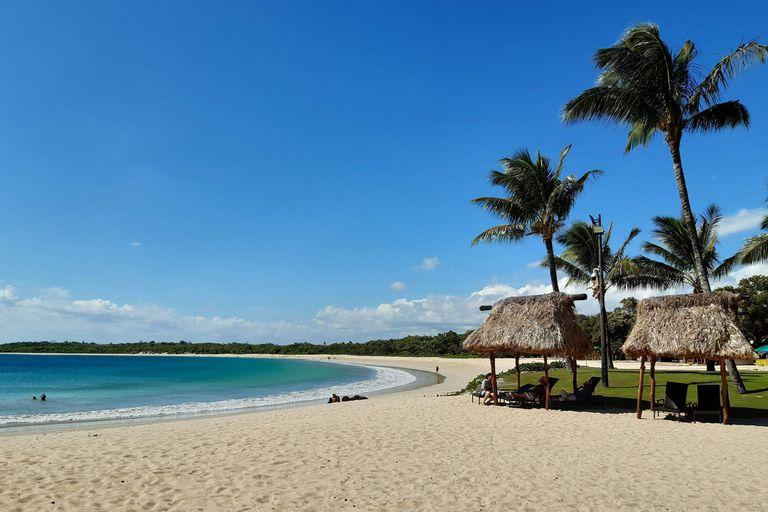 La paradisíaca playa de Natadola Bay, en Fiji