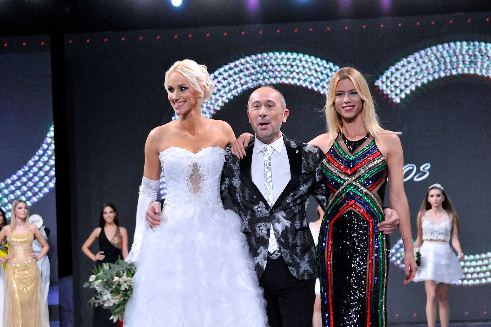 Claudio Casano presentó su nueva colección y contó con dos de sus musas: Ingrid Grudke y Nicole Neumann