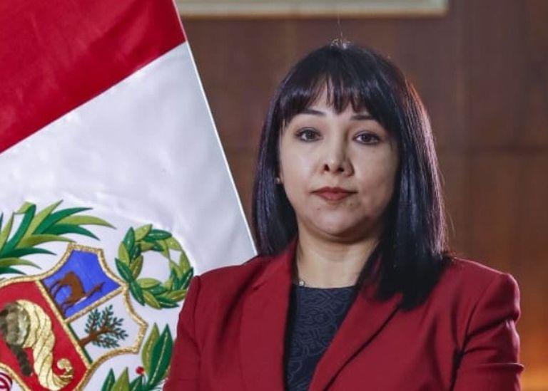 10-10-2021 La primera ministra peruana, Mirtha Vásquez POLITICA SUDAMÉRICA PERÚ GOBIERNO DE PERÚ