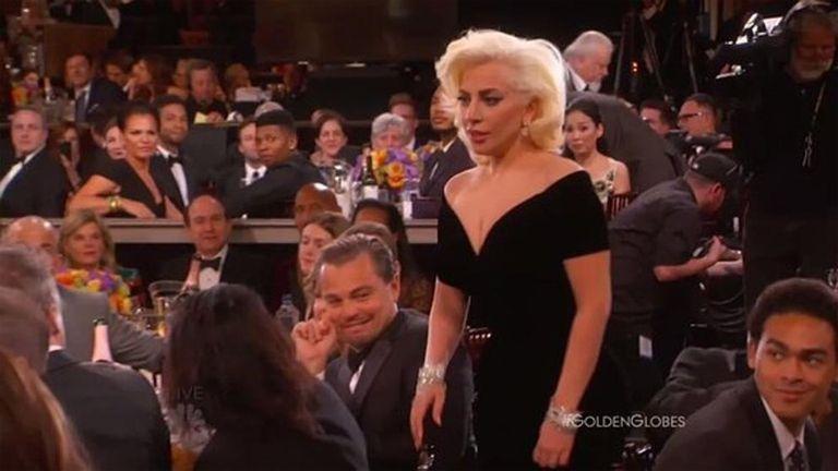 El gesto de Leo, capturado por las cámaras