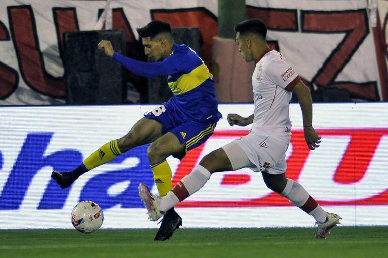 Boca le gana a Huracán con una obra maestra de Almendra
