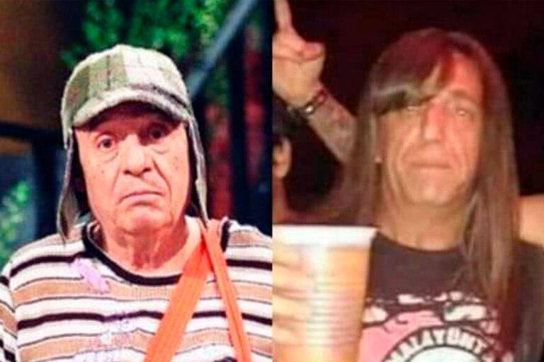 Phil González cobro popularidad durante la cuarentena por su parecido con Chespirito; ahora, el rockero de Moreno fue convocado para actuar una ficción