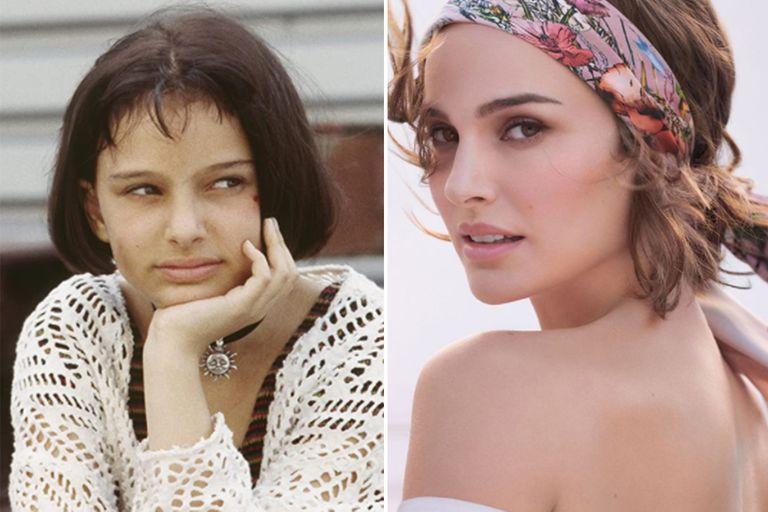Natalie Portman a los 13 y a los 40