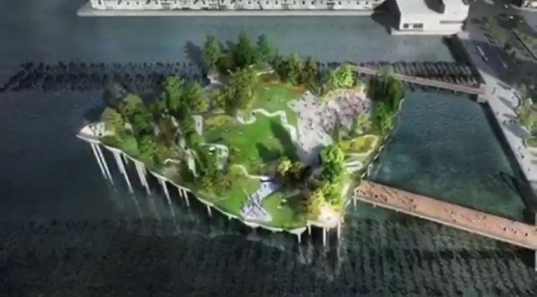 Little Island: el nuevo parque flotante que genera polémica en Nueva York