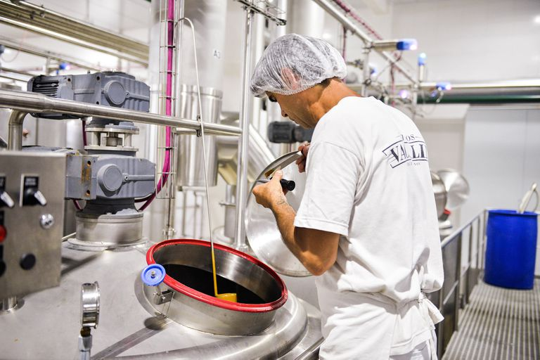 La fábrica de dulce de leche, prepandemia