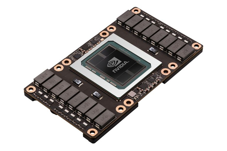 Nvidia también está creando chips basados en sus procesadores gráficos para servir de cerebro de una inteligencia artificial