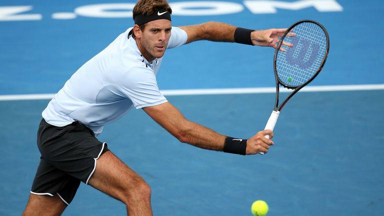 Juan Martín del Potro perdió con Bautista Agut en la final del ATP de Auckland