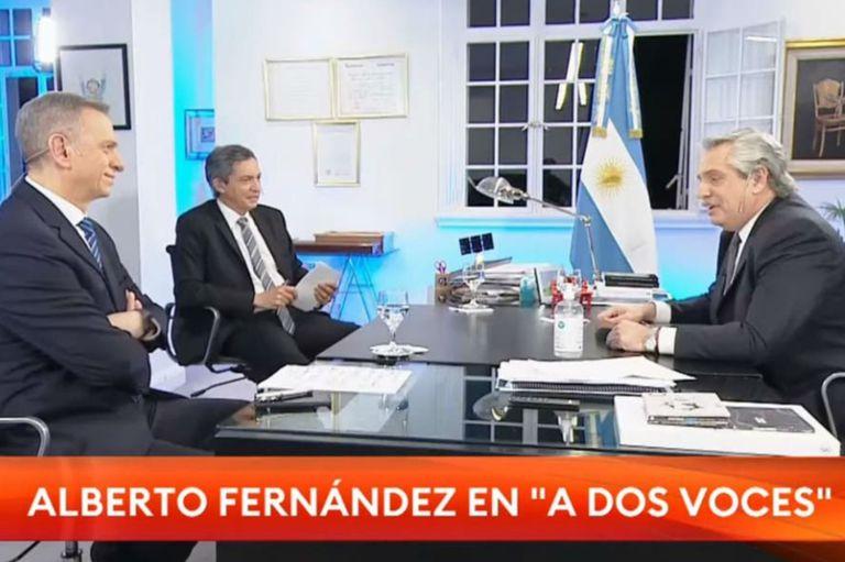 El presidente de la Nación y el periodista tensaron la entrevista por varios temas: la reforma judicial, el encuentro con la familia Moyano en Olivos y el impuesto a las Ganancias, entre otros