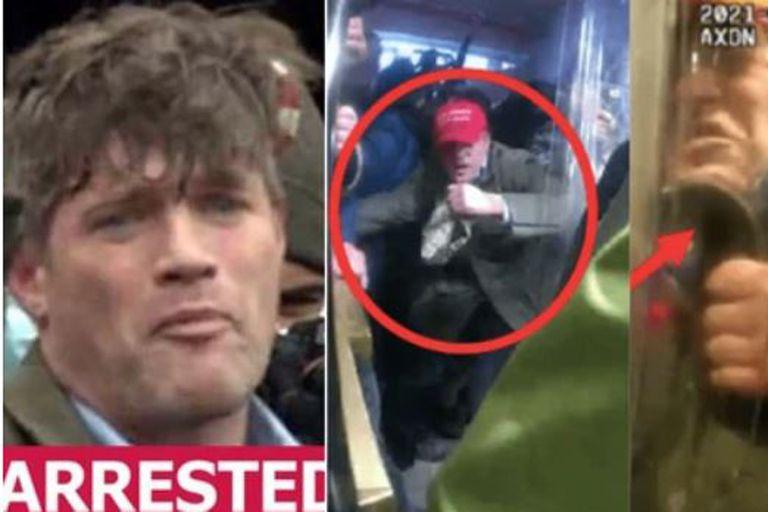 """Federico """"Freddie"""" Klein, funcionario de la administración de Donald Trump, fue uno de los detenidos por los asaltos al capitolio, el 6 de marzo"""