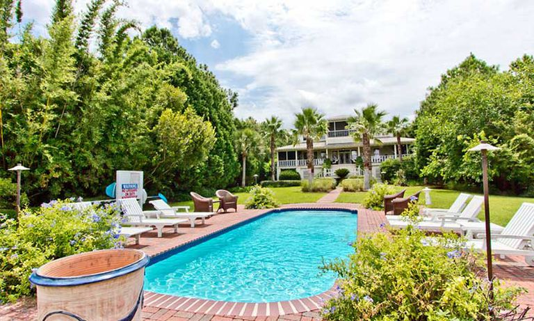 El 'refugio playero' que Sandra Bullock vendió en la isla de Tybee.
