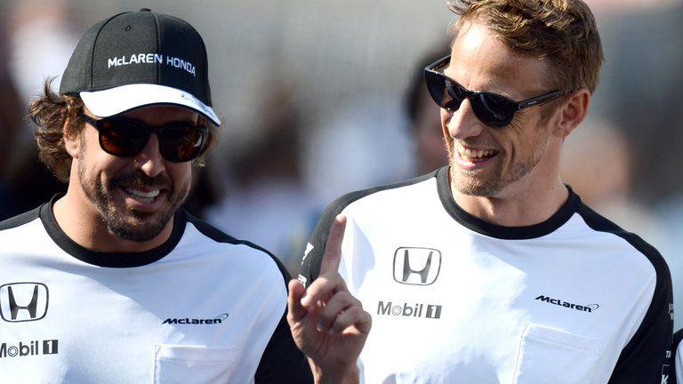 Button ocupará la vacante de Alonso en Mónaco