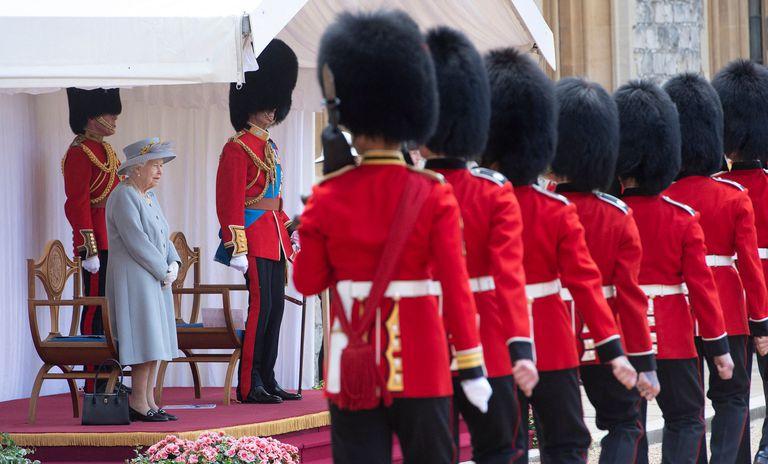Por la pandemia de coronavirus, el evento se realizó en el Castillo de Windsor