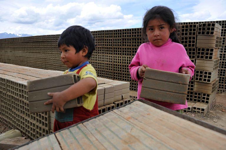 Son 715.484 los chicos de 5 a 15 años que trabajan en el país
