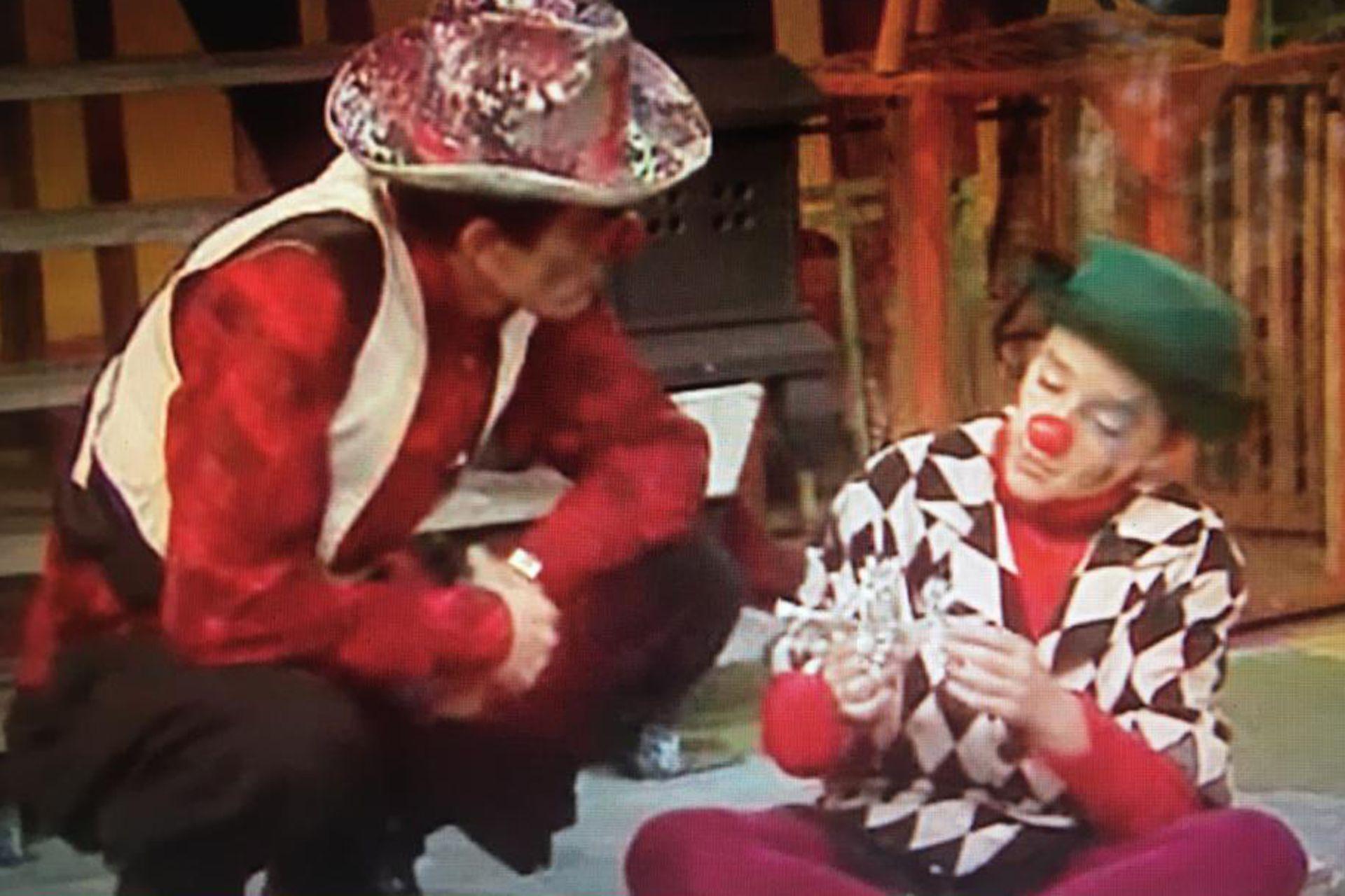 Hugo y Julián Midón, en la versión televisiva de Vivitos y coleando