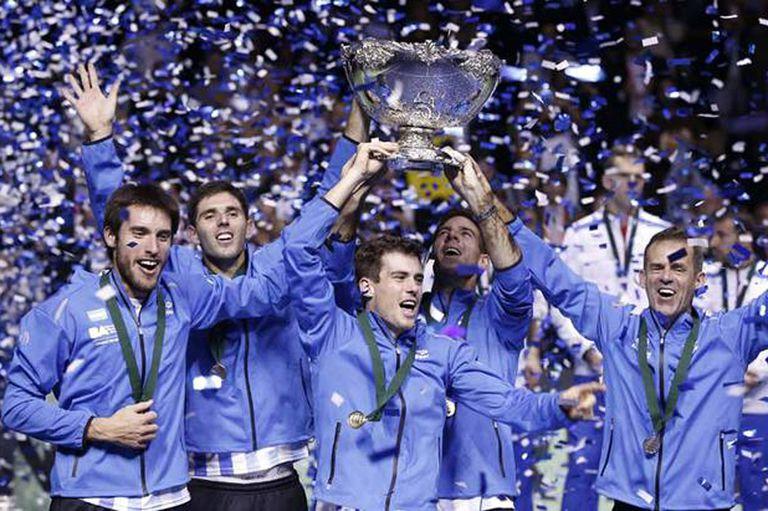 La inolvidable consagración del tenis argentino en Zagreb en la Copa Davis